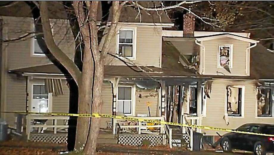 A fire tore through a home on Hillside Street in Meriden late Wednesday night, killing one man and injuring three firefighters. The cause of the fire remained under investigation early Thursday. Photo: (Photo Via WTNH.com)