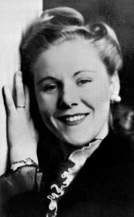 FILE- In this 1943 file photo Viola Gregg Liuzzo of Detroit is shown. Gregg Luizzo, a 39-year-old mother of five, was ambushed and killed by Klansmen in her car, as she was shuttling marchers in Selma  on March 26, 1965.  Wayne State University plans to give an honorary doctor of laws degree to Liuzzo during a ceremony on April 10. It will be the first posthumous honorary degree in the schoolís history.  (AP Photo) Photo: AP / AP