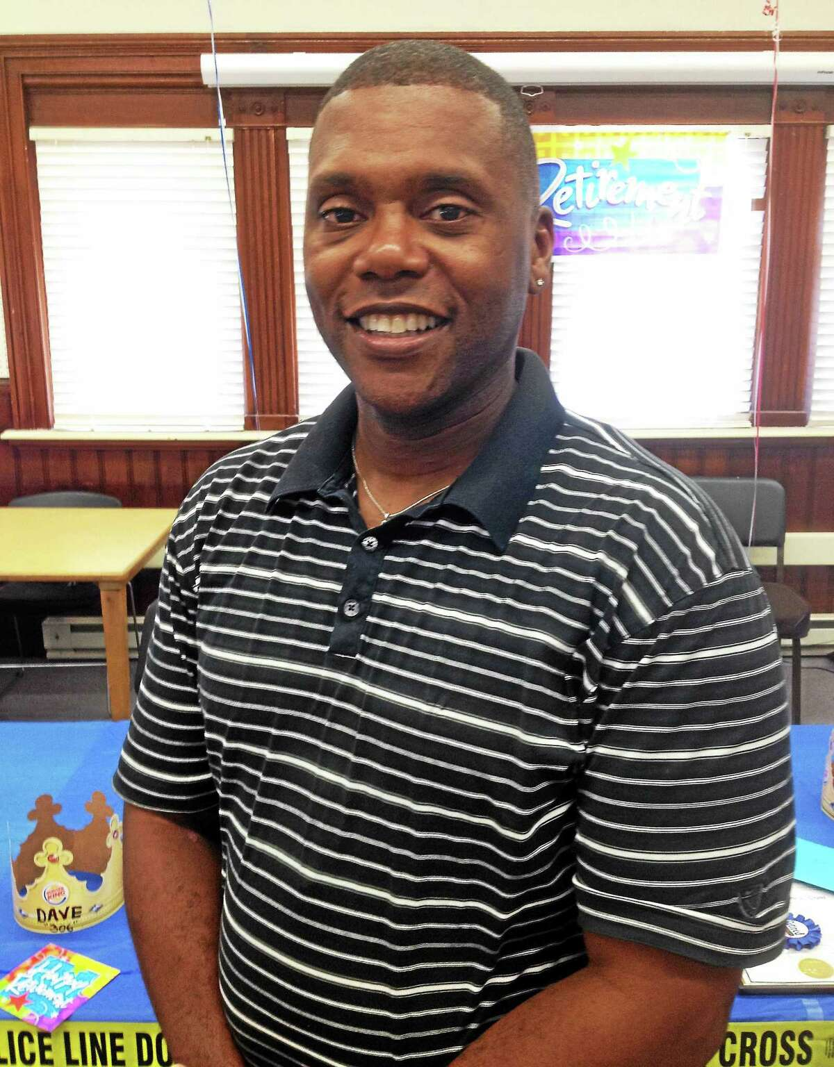 Police officer Eric Grant, who celebrated his retirement along with Bond last week, is moving on to become a physical education instructor at the Valley View School in Portland.