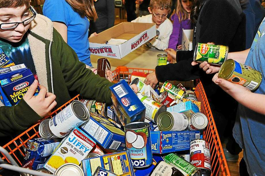 The Community Round-up will collect food donations on Dec. 6 from residents in Durham and Middlefield. Volunteers are still needed. Photo: Courtesy Community Round-up