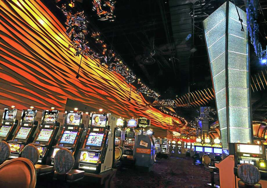 In this Aug. 26, 2008, photo, the new Casino of the Wind at Mohegan Sun is shown in Uncasville, Conn. Photo: (Jessica Hill — The Associated Press)  / FR125654 AP