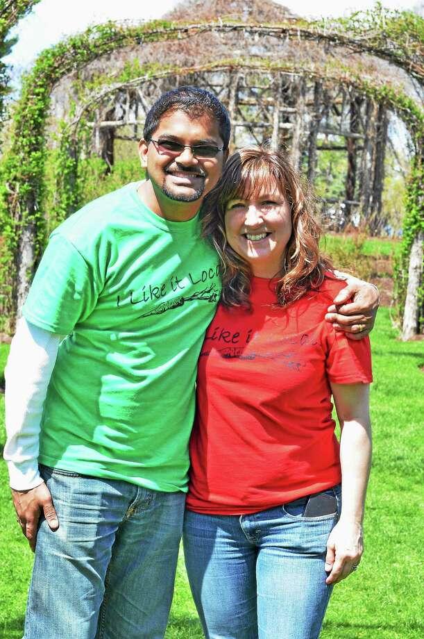 Karen and Kedhar Thiruvala. Photo: Courtesy Sow Organics