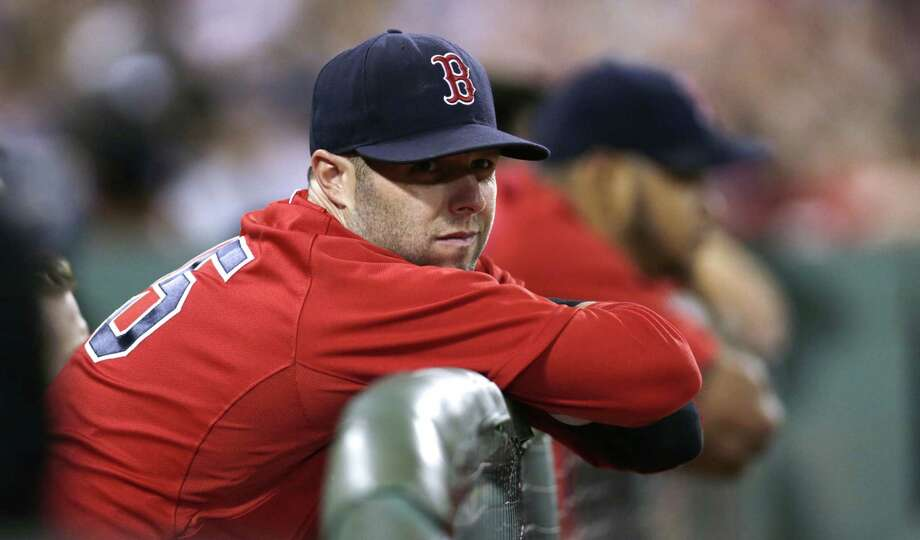The Boston Red Sox have placed second baseman Dustin Pedroia back on the disabled list. Photo: Charles Krupa — The Associated Press  / AP
