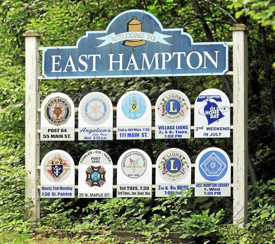 File ¬ East Hampton Photo: Journal Register Co. / TheMiddletownPress