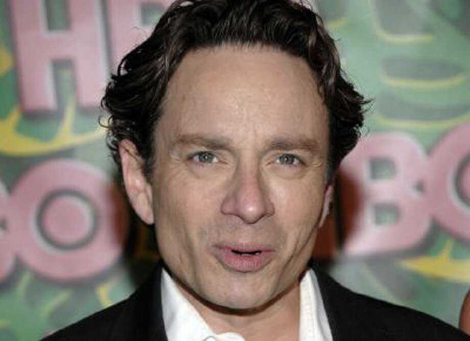 "This Aug. 29, 2010 file photo shows Actor Chris Kattan arriving at the HBO Emmy party in West Hollywood, Calif. Authorities say former ""Saturday Night Live"" star Kattan has been arrested on suspicion of drunken driving after his Mercedes struck a Department of Transportation vehicle on a Southern California freeway. The California Highway Patrol says the Mercedes was seen weaving in and out of lanes shortly before 2 a.m. Monday on the 101 Freeway in Los Angeles."