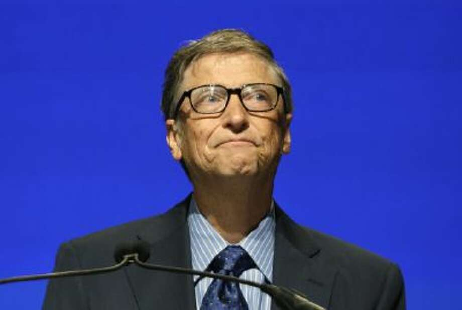 Microsoft chairman Bill Gates at the company's annual shareholders meeting Nov. 19, 2013, in Redmond, Wash.