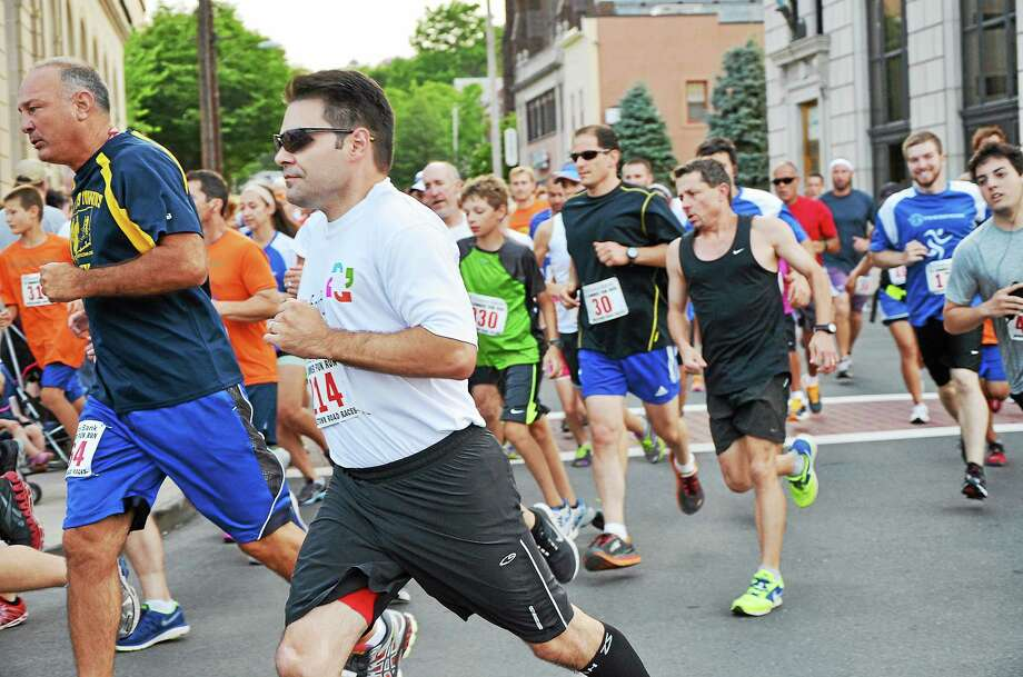 The Citizens Bank 5K Summer Fun Run and 1/2 Mile Kids Fun Run on Main Street in Middletown July 23. Photo: Catherine Avalone - The Middletown Press