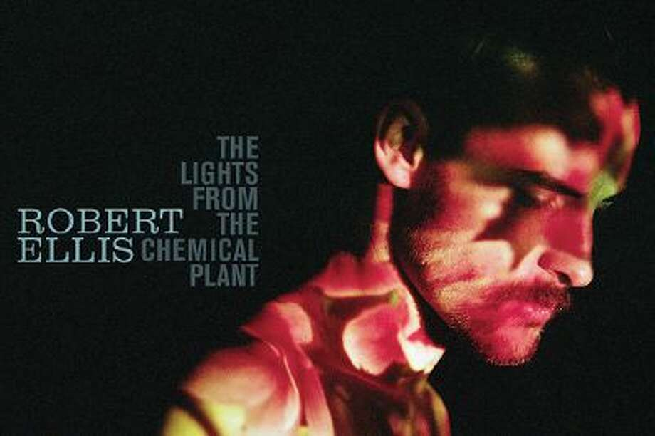 "This CD cover image released by New West Records shows ""The Lights From The Chemical Plant,"" by Robert Ellis. Photo: AP / New West Records"
