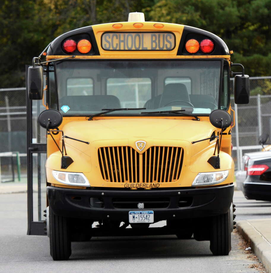 A school bus like those that carry New Haven students Photo: Shutterstock Photo