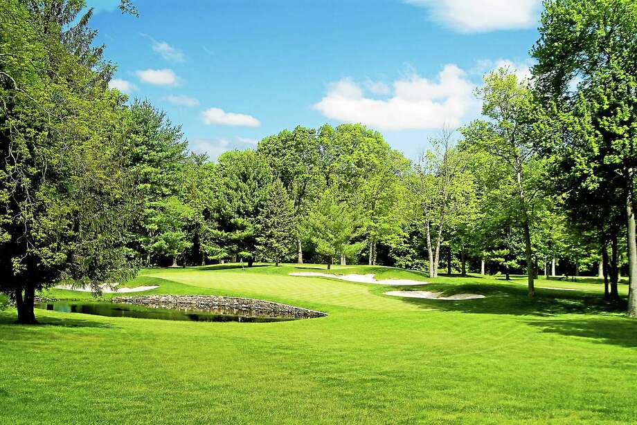 The sixth green at Rolling Hills Country Club in Wilton, site of the 80th Connecticut Open. Photo: Submitted Photo