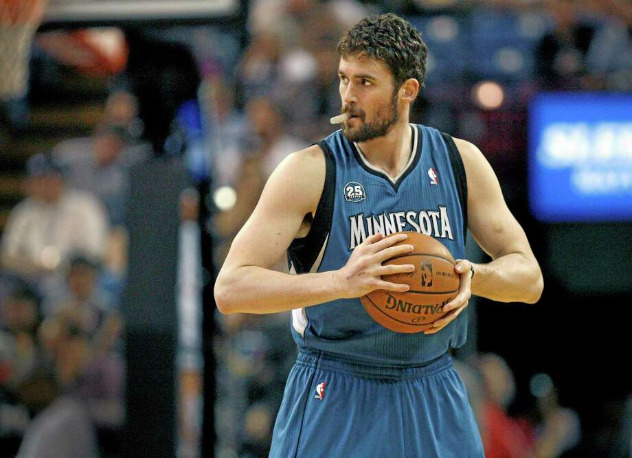 Minnesota Timberwolves forward Kevin Love has withdrawn from Team USA. Photo: Steve Yeater — The Associated Press File Photo  / FR69238 AP
