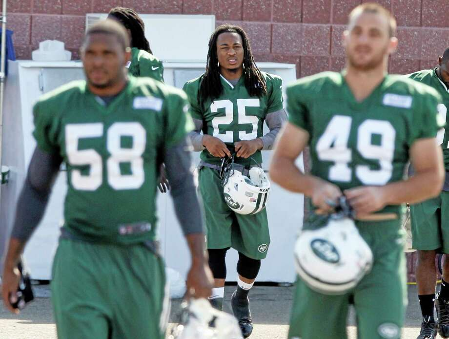 New York Jets safety Calvin Pryor suffered a possible concussion on Saturday. Photo: The Associated Press  / AP