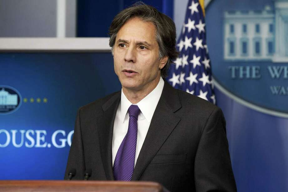 FILE - In this July 28, 2014, Deputy National Security Adviser Tony Blinken speaks at the White House in Washington. Photo: (AP Photo/Jacquelyn Martin, File) / AP