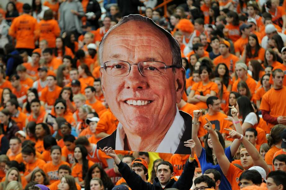 Syracuse officials say coach Jim Boeheim will retire in three years and athletic director Daryl Gross has resigned following punishment from the NCAA for violations that lasted more than a decade. Photo: Lauren Long — The Post-Standard  / The Post-Standard