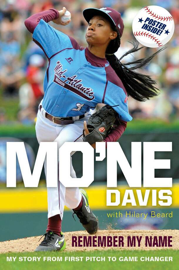 """This undated photo provided by publisher Harper Collins shows the cover of the book """"Mo'ne Davis: Remember My Name."""" Harper Collins told The Associated Press that the memoir will be released next March by HarperCollins Children's Books. Photo: The Associated Press  / Harper Collins"""
