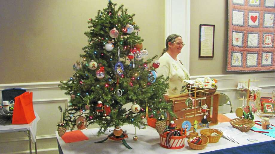 The theme of this year's First Congregational Church of Watertown holiday fair was Walking in a Winter Wonderland and the hall was decorated with snowflakes, lights, white lace sash and trees. Photo: John Nestor — Special To The Register Citizen
