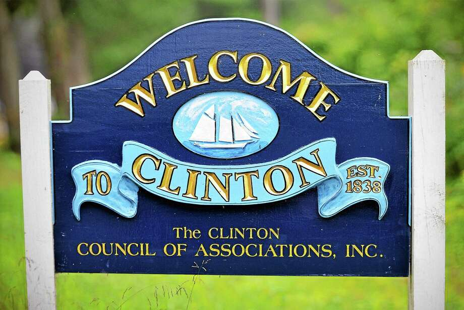 File photo  Clinton Connecticut sign Photo: Journal Register Co. / TheMiddletownPress