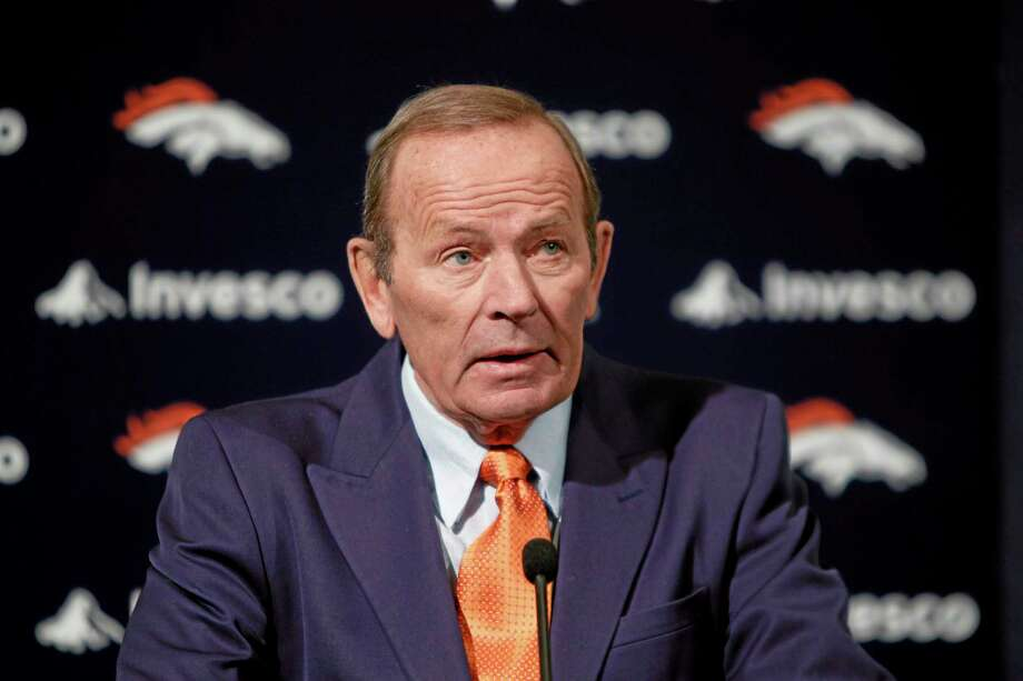 Denver Broncos owner Pat Bowlen is giving up control of the team as he battles Alzheimer's disease. The team announced Wednesday that the 70-year-old will no longer be a part of the team's daily operations. Photo: Ed Andrieski — The Associated Press File Photo  / AP