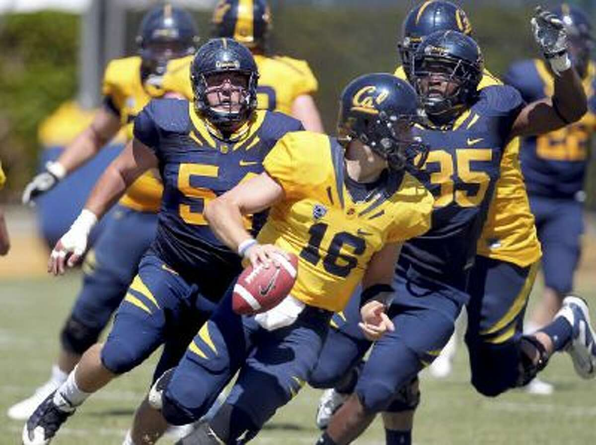 California player Ted Agu (#35) died unexpectedly Friday.