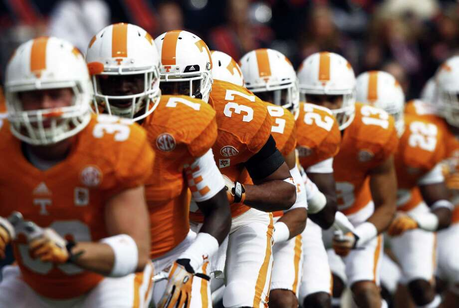 Tennessee was scheduled to play UConn in 2015 and 2016, but right now that series has been suspended. Photo: Wade Payne — The Associated Press  / FR23601 AP