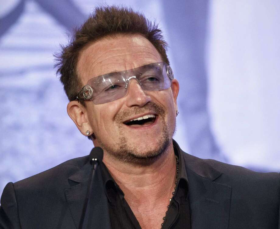 FILE - In this May 18, 2012, file photo, Bono, the Irish rock star and activist, speaks at the Symposium on Global Agriculture and Food Security. Photo:  (AP Photo/J. Scott Applewhite, File) / AP