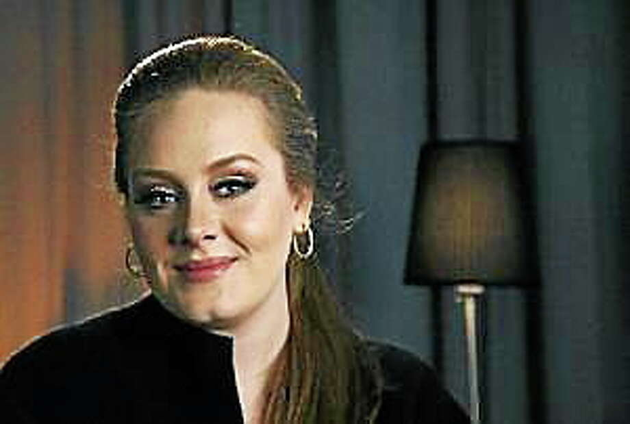 In this Feb. 10, 2011, photo, recording artist Adele poses for a portrait in New York. Photo: (Jeff Christensen — The Associated Press)