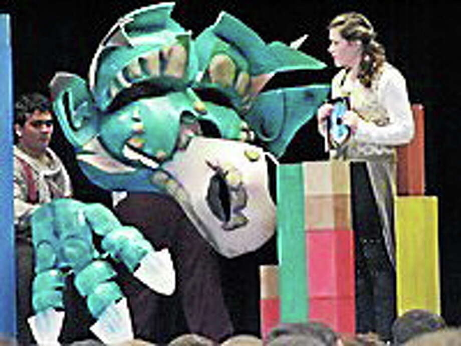 Submitted photo A scene from The Reluctant Dragon, a children's performance being offered by the Shoreline Arts Alliance. Photo: Journal Register Co.