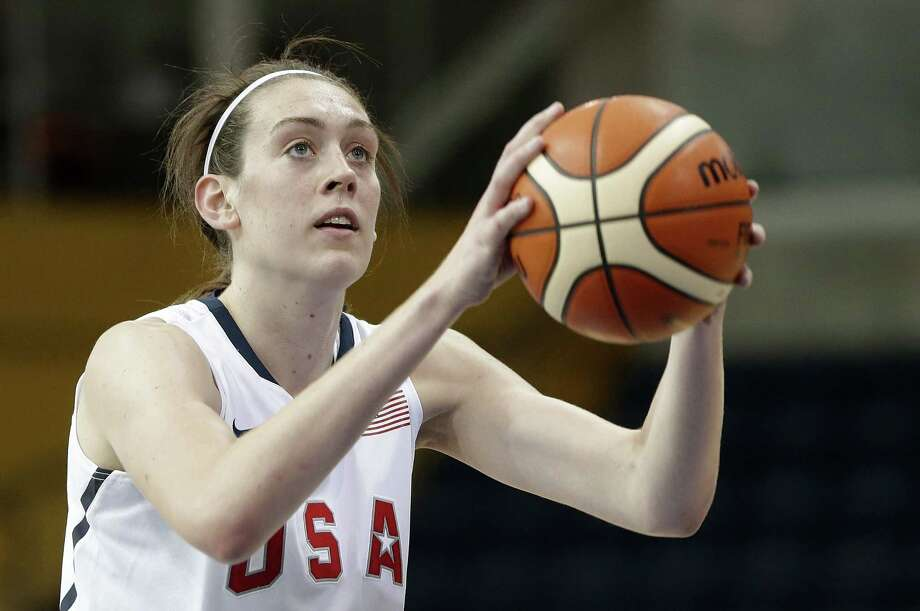 Breanna Stewart, shown here in a preliminary round game, helped the U.S. women's basketball team advance to the Pan Am Games finals with a win over Cuba on Sunday. Photo: The Associated Press  / AP