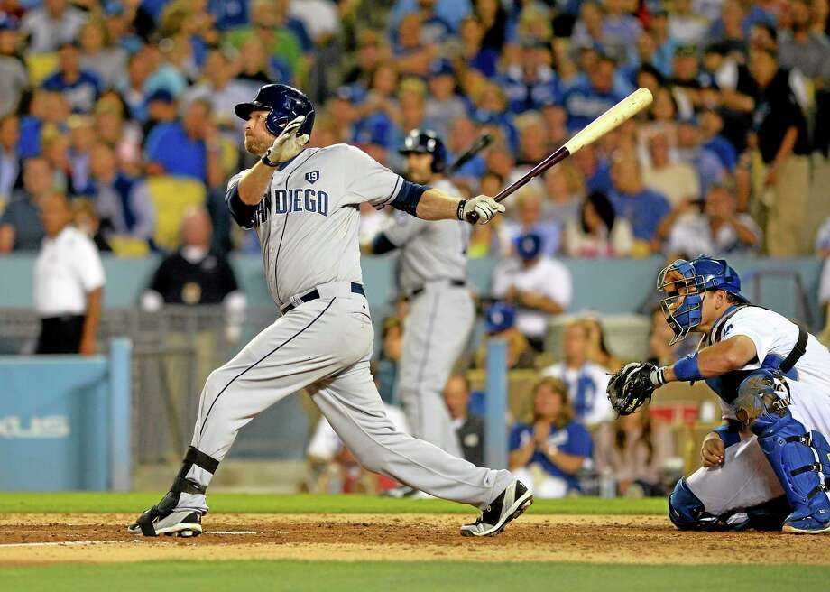 Trying to add offense at third base, the New York Yankees acquired Chase Headley from the San Diego Padres on Tuesday for infielder Yangervis Solarte and right-hander Rafael De Paula. Photo: Mark J. Terrill — The Associated Press  / AP