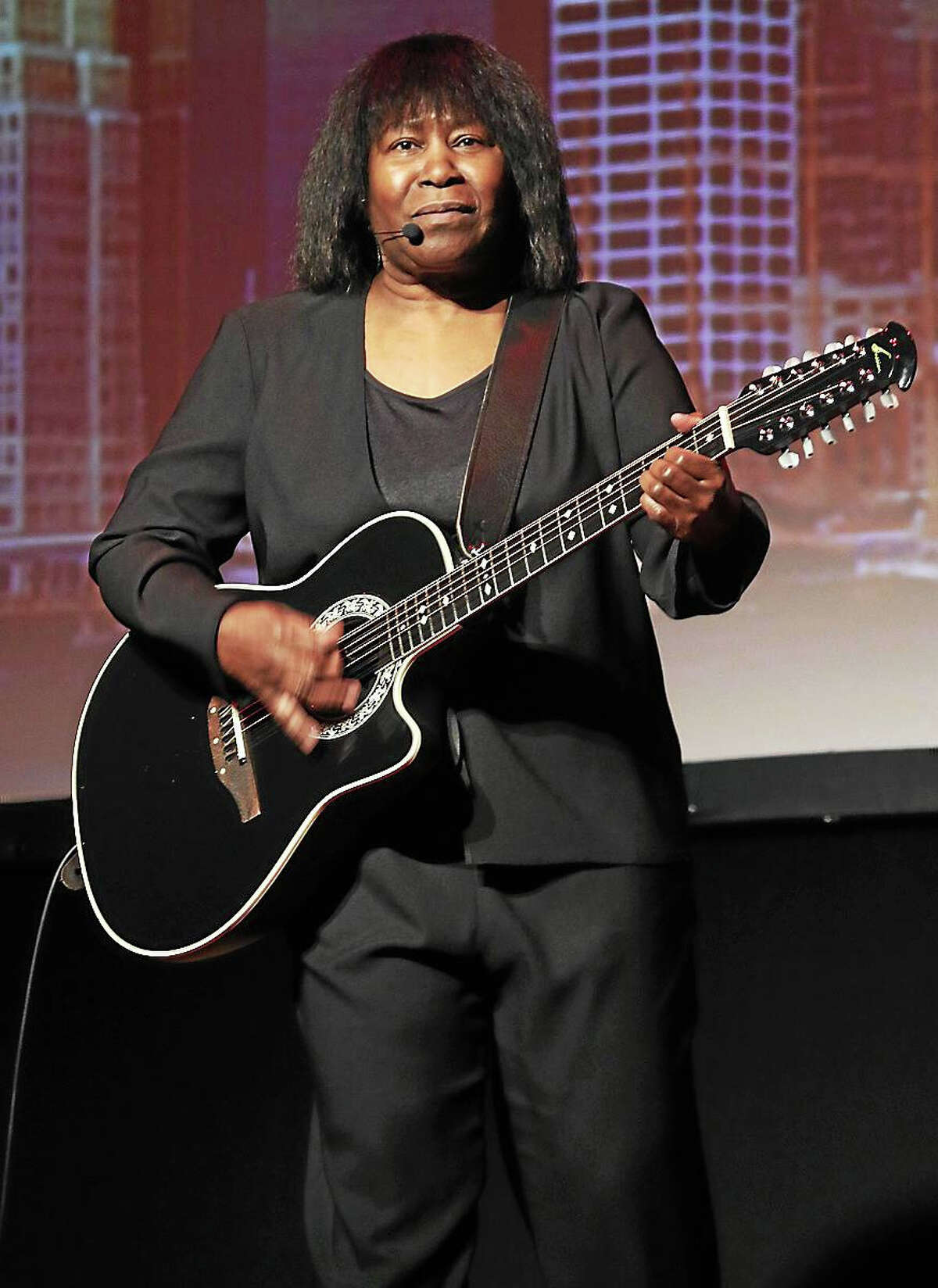 """Photo by John AtashianBritish singer, songwriter and guitarist Joan Armatrading is shown performing on stage at Infinity Music Hall during her""""concert appearance on Oct. 30. Joan is a three-time Grammy Award nominee, Armatrading was nominated twice for Brit Awards as Best Female Artist. She also received an Ivor Novello Award for Outstanding Contemporary Song Collection in 1996. She is currently on her final world tour. To learn more about the long list of entertainment coming to Infinity Music Hall you can visit www.infinityhall.com"""