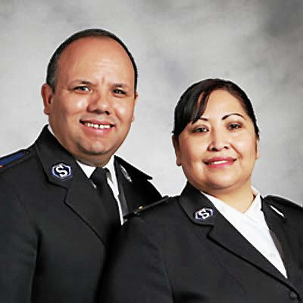 Submitted photo. Jose and Raquel Hernandez took over the Salvation Army office in Middletown in June.