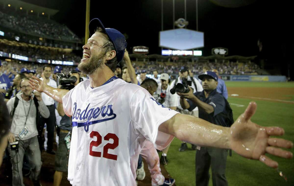 Los Angeles Dodgers starting pitcher Clayton Kershaw was a unanimous winner for his third NL Cy Young Award after leading the majors in victories and ERA and throwing a no-hitter.