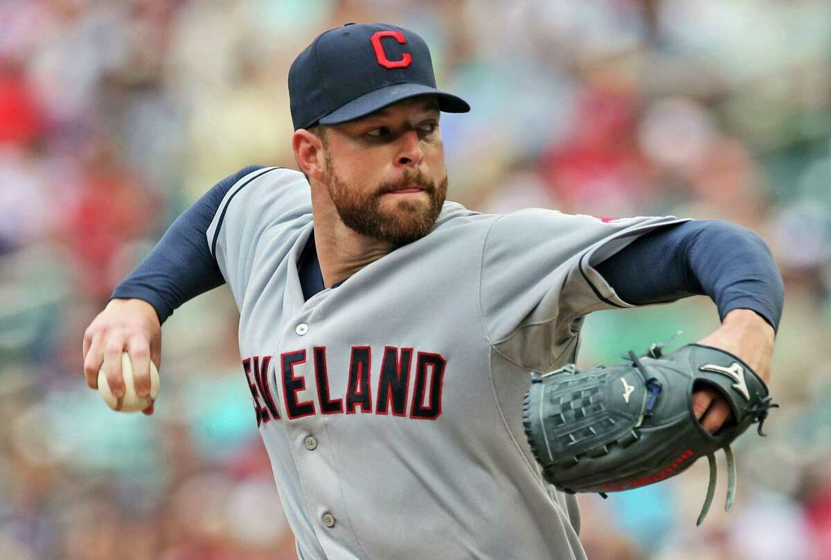 Cleveland Indians starting pitcher Corey Kluber won the AL Cy Young Award on Wednesday.