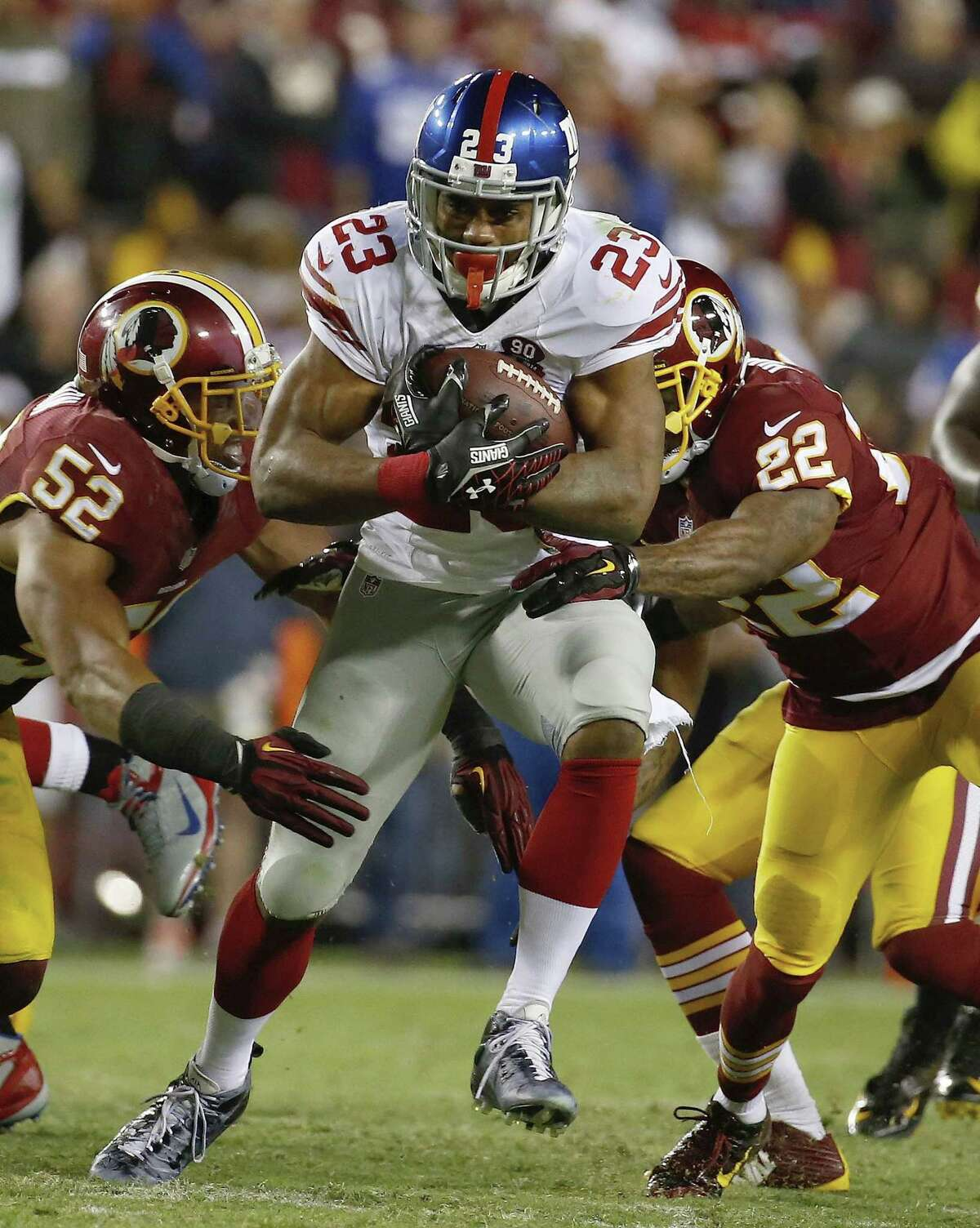 New York Giants running back Rashad Jennings is expected to play against the San Francisco 49ers.