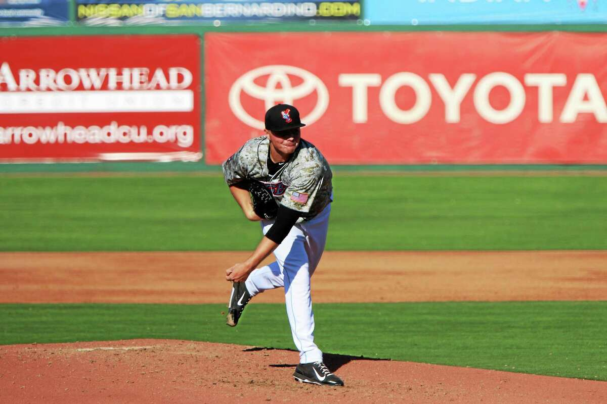 University of Hartford product Sean Newcomb has been stellar in his first full season of professional baseball.