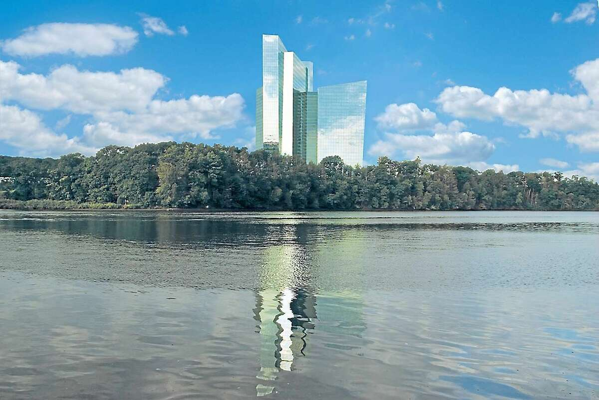 The Mohegan Sun hotel building. (Submitted photo)