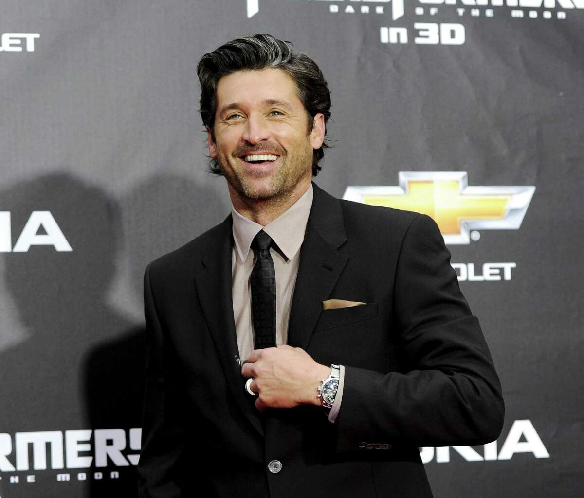 """FILE - In this June 28, 2011 file photo, actor Patrick Dempsey attends the """"Transformers: Dark Of The Moon'"""" premiere in Times Square in New York. Dempsey is returning home this weekend to receive an award for his leadership in caring for cancer patients Dempsey, most famous for his role as Dr. Derek Shepherd in the television series ìGreyís Anatomy,î is scheduled to receive the Maine Creative Industries Award on Saturday, Nov. 15, 2014 in Portland. He helped found the Patrick Dempsey Center for Cancer Hope & Healing at Central Maine Medical Center in Lewiston. He was driven by his motherís battle with ovarian cancer. Amanda Dempsey died in March at age 77. (AP Photo/Evan Agostini, File)"""