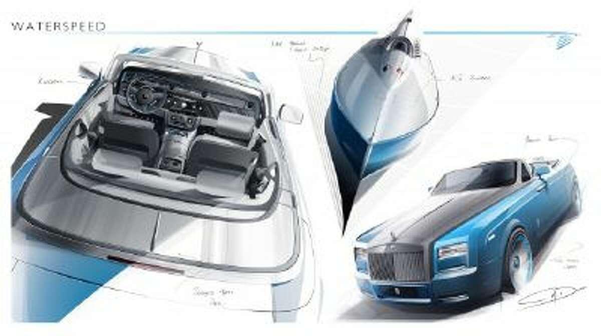 Rolls-Royce Bespoke Waterspeed Collection