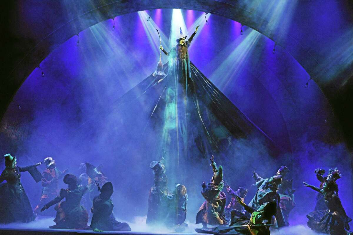 """Submitted photos Laurel Harris plays the starring role of Ephalba in The Bushnell's performances of """"Wicked"""" in Hartford."""