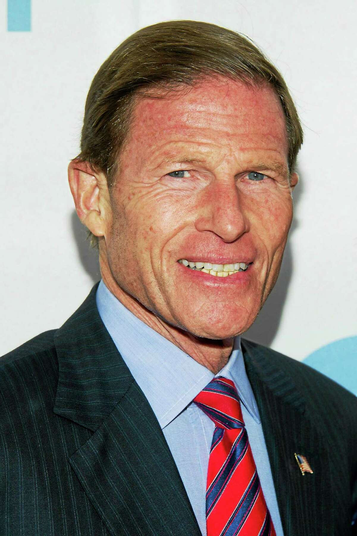 Senator Richard Blumenthal arrives at the 6th Annual Stand Up For Heroes benefit concert for injured service members and veterans on Nov. 8, 2012 in New York.