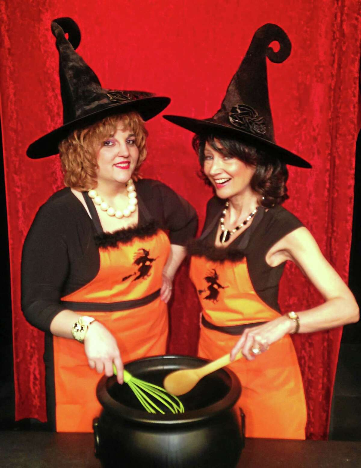 """Contributed photo """"The Kitchen Witches"""" from left, are Kristin Ceneviva as Dolly and Barbara Horan as Izzy."""
