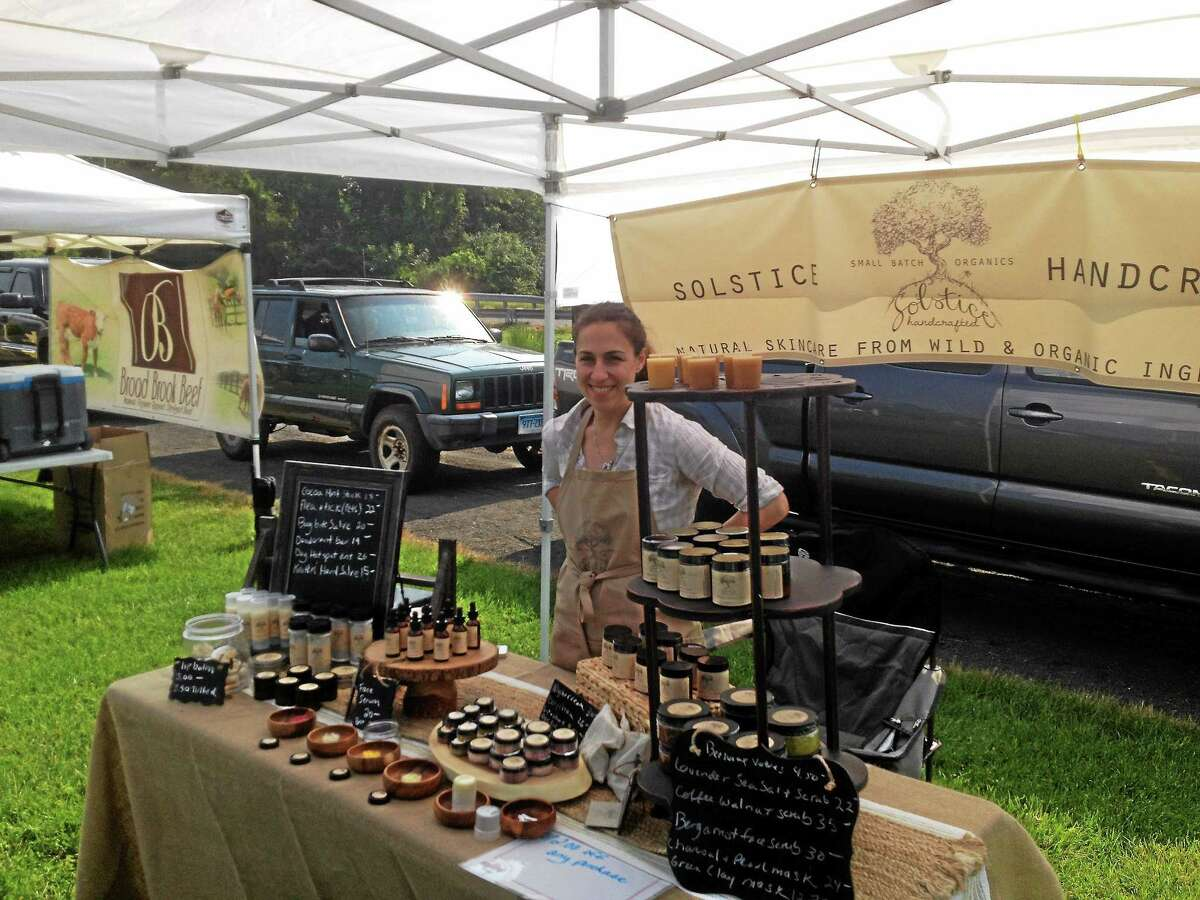 The Cromwell Farmers Market opened its inaugural season in great weather recently. Organizers said they had perhaps 20 vendors at the market site in Frisbie Park, offering fresh produce, artisanal cheeses, fresh-baked bread and all-natural, gluten-free tortilla chips.