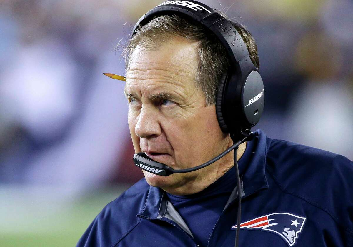 Head coach Bill Belichick and the Patriots can move to 8-0 with a win over Washington on Sunday.