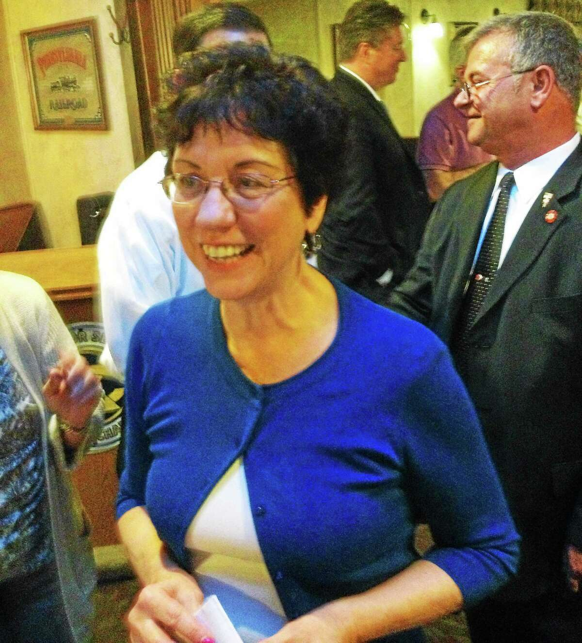 Jeff Mill - The Middletown Press ¬ Kathleen Richards, deputy first selectwoman of Portland