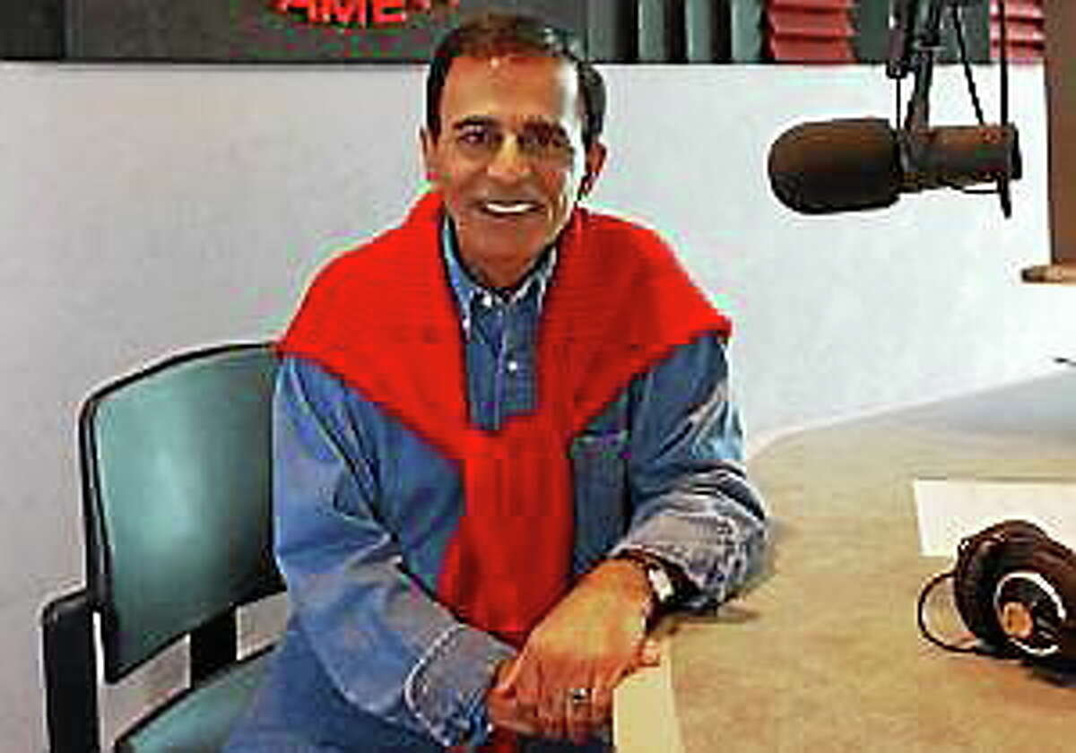 This July 29, 2003 file photo shows radio personality Casey Kasem at the Rock and Roll Hall of Fame in Cleveland. Kasem, the smooth-voiced radio broadcaster who became the king of the top 40 countdown, died Sunday, June 15, 2014.
