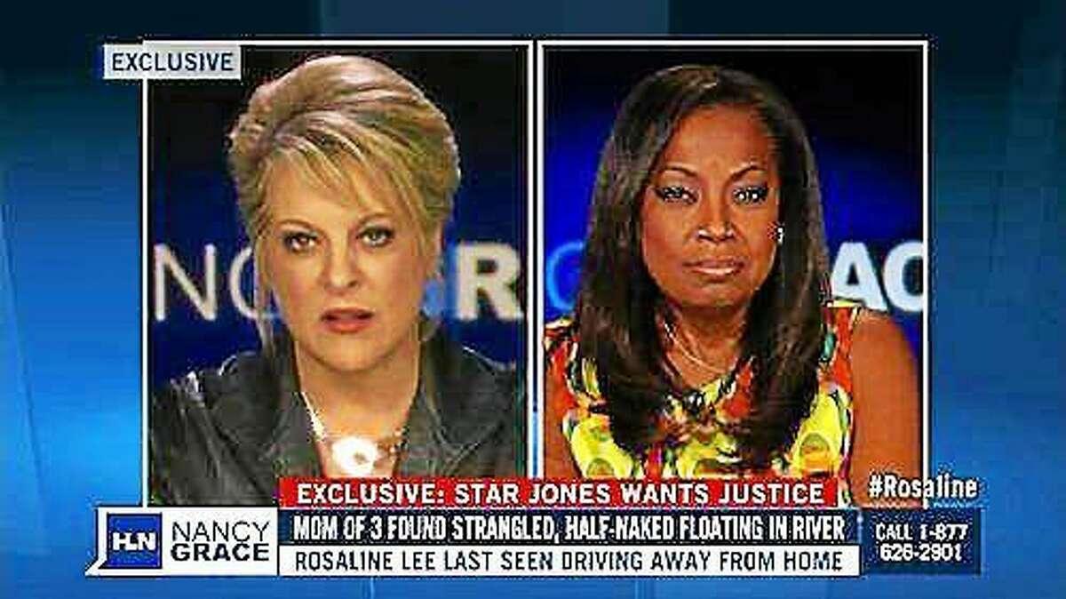File photo: Nancy Grace, left, talks with Star Jones about Rosaline Ransom-Lee's death.