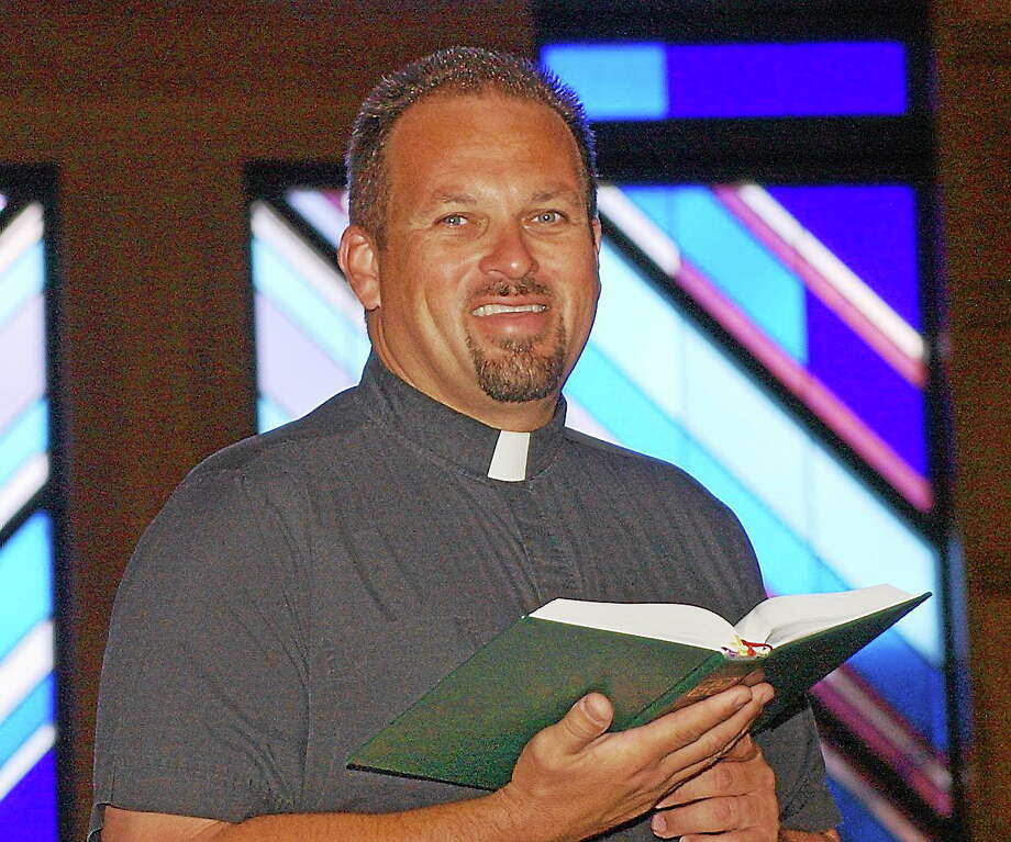 Pastor Zach Harris Photo: Journal Register Co.