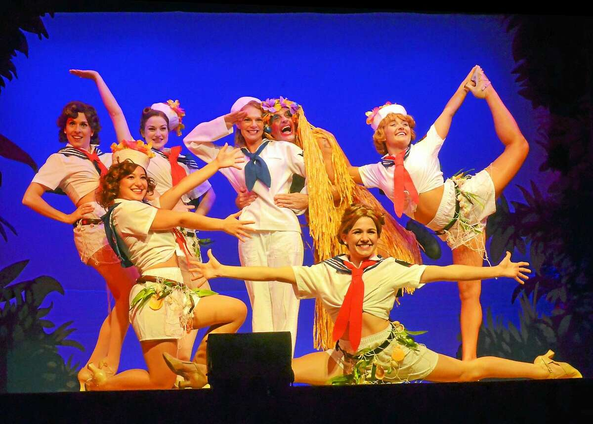 """Photo by Roger Williams for The Ivoryton Playhouse The cast of """"South Pacific"""" continues performances at the Ivoryton Playhouse."""