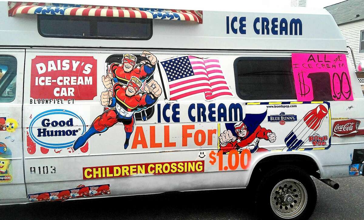 Though Daisy Gonzalez recently had four new tires installed on her vintage ice cream truck, the repair didn't avoid the blowout July 5 on Interstate-91. The truck was totaled and the accident landed Gonzalez in the hospital with serious injuries.
