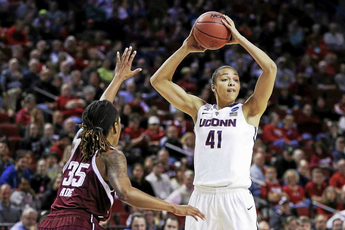 Kiah Stokes will have some big shoes to fill as a senior as the Huskies try to replace some of the production of the departed Stefanie Dolson.